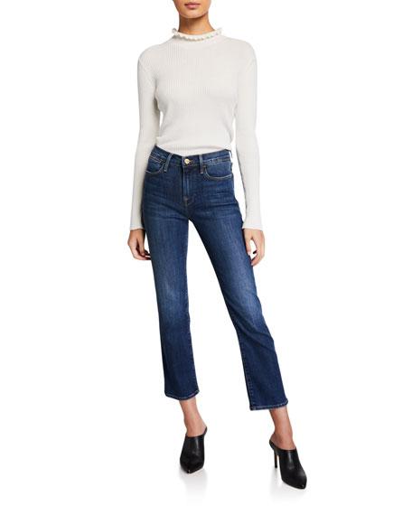 FRAME Le High Straight Jeans in Dublin