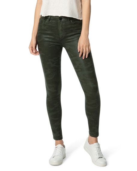 Joe's Jeans The Icon Ankle Skinny Coated Jeans