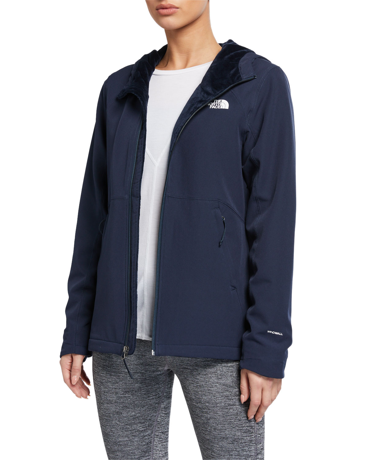 The North Face Shelbe Raschel-Lined Zip Performance Hoodie Jacket
