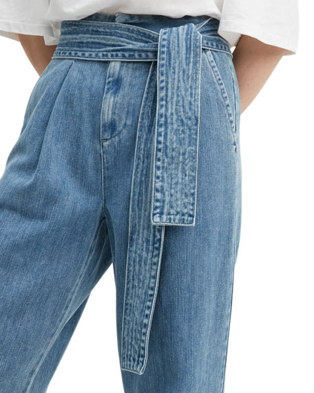 Levi's Made & Crafted Tie-Waist Denim Trousers