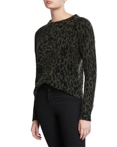 Joanna Leopard Sweater