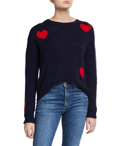 Perci Hearts Sweater