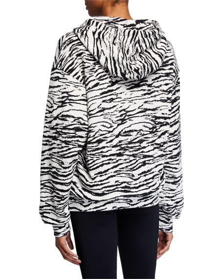 Pam & Gela Tiger Hooded Sweatshirt