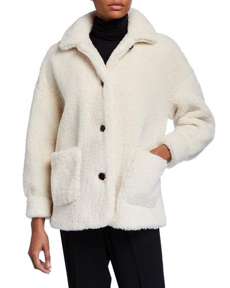 MKT Studio Metty Faux-Fur Teddy Coat