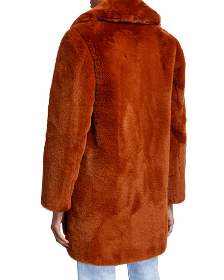 MKT Studio Masolin Faux-Fur Jacket