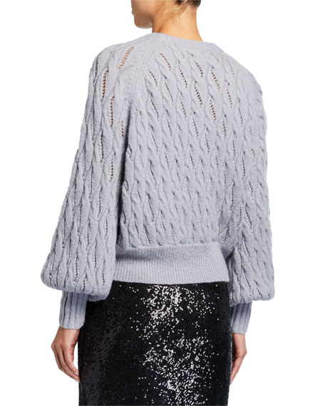 cinq a sept Campbell Knit Pullover Sweater
