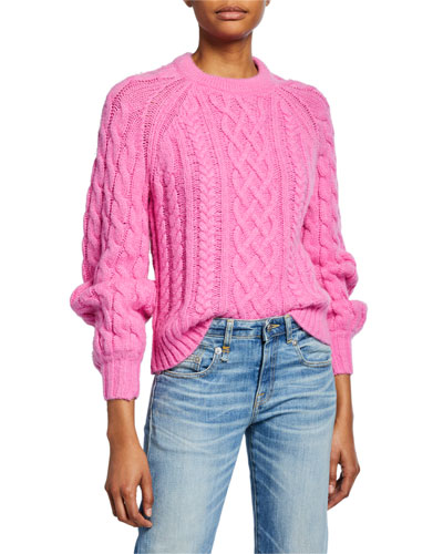 Mick Cable-Knit Sweater