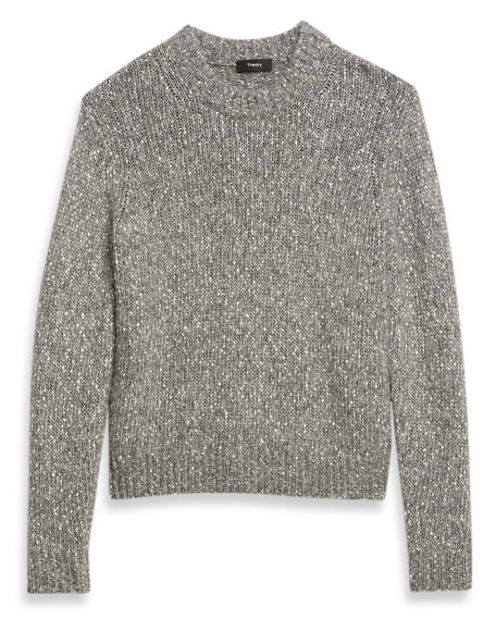 Theory Speckled Crewneck Sweater