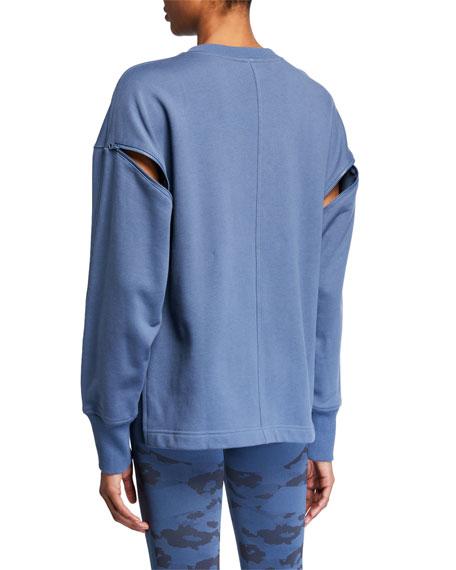 adidas by Stella McCartney Zip-Sleeve Sweatshirt