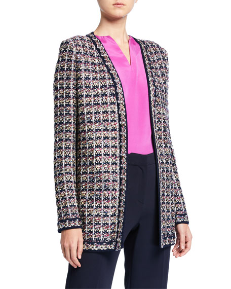 St. John Collection Passementerie Knit Jacket