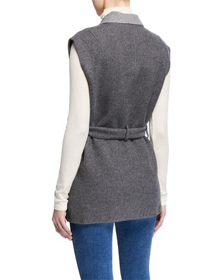 Rag & Bone Pearson Double-Breasted Wool Vest