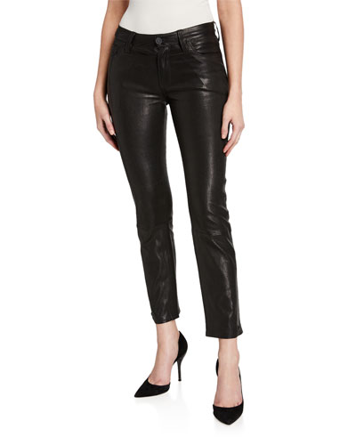 Nico Leather Cigarette Pants