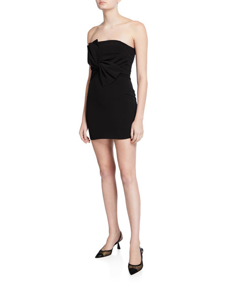 Likely Dresses ARAYA STRAPLESS BOW COCKTAIL DRESS
