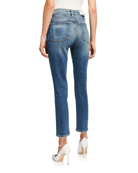 RE/DONE 50s Cigarette Ankle Jeans
