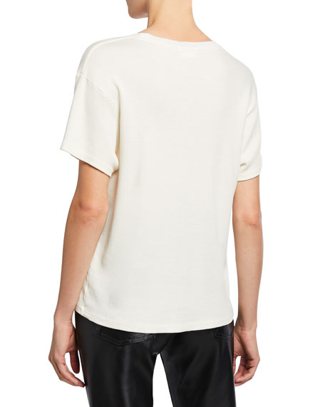 RE/DONE 70s Oversized Short-Sleeve Tee