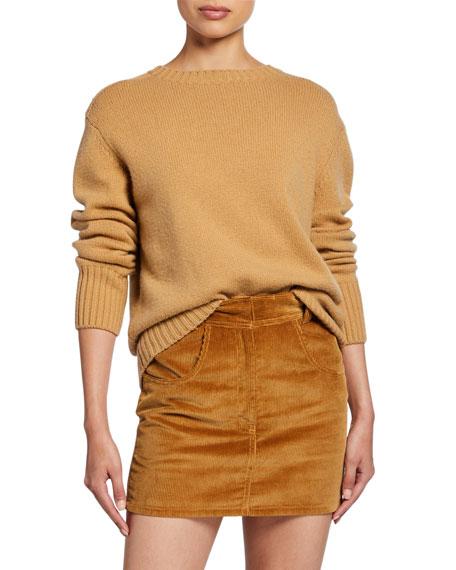 RE/DONE 40s Crewneck Cotton Sweater