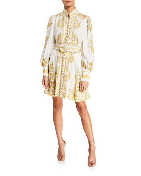 Zimmermann Super Eight Tubular Mini Dress