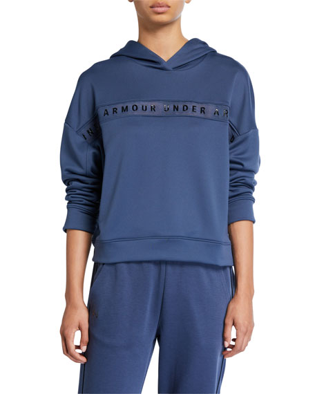 Under Armour Tech Terry Logo Pullover Hoodie