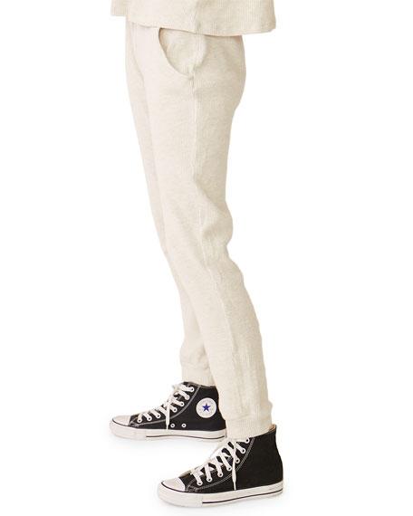 Monrow Waffle Knit Jogger Pants