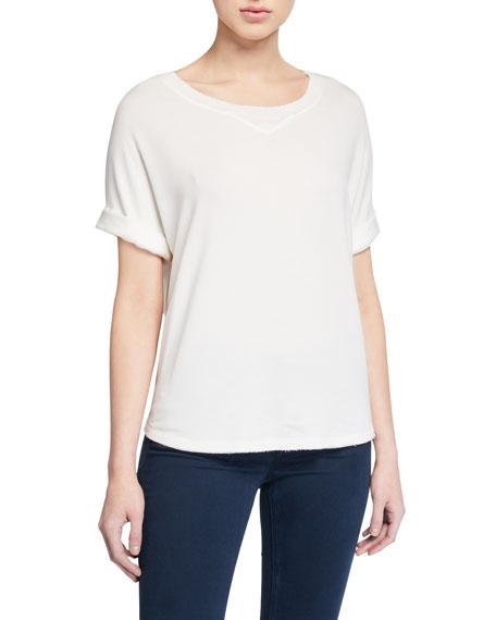 Rag & Bone Townes Short-Sleeve Sweatshirt