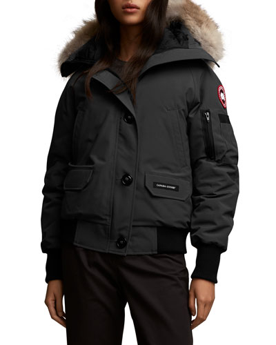Chilliwack Fusion-Fit Bomber Jacket with Removable Fur