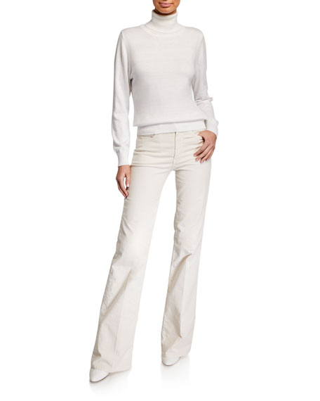 Atelier Notify Dahlia High-Rise Flare Jeans