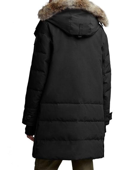 Canada Goose Kenton Fur-Trim Hooded Parka