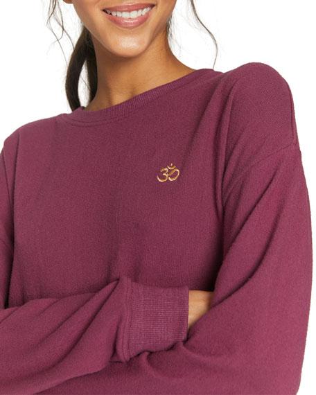 Spiritual Gangster Om Malibu Crewneck Sweatshirt