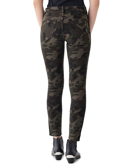 Image 2 of 2: DL1961 Premium Denim Florence Mid-Rise Ankle Skinny Jeans