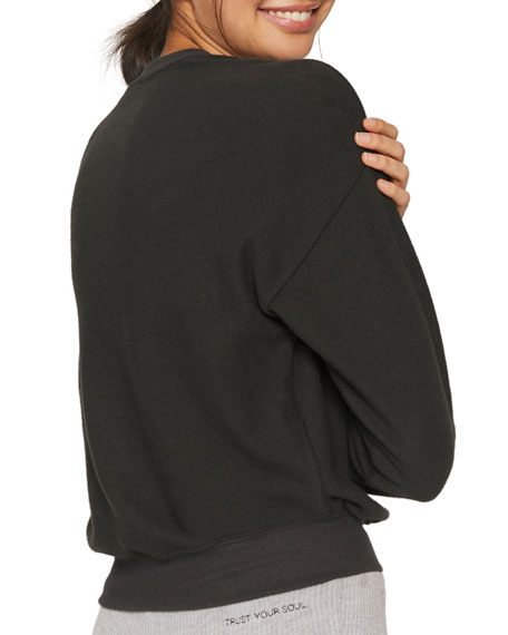 Spiritual Gangster Peace Malibu Crewneck Sweatshirt