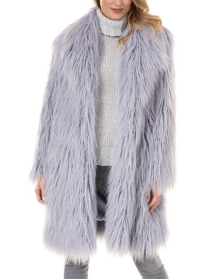 Fabulous Furs Daydreamer Tibetan Lamb Faux-Fur Coat - Inclusive Sizing