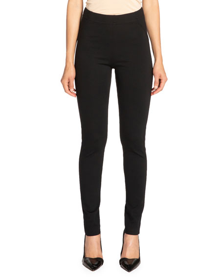 Image 1 of 3: Santorelli Dawn Double Jersey Legging Pant with Seam Details