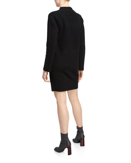 Theory Kimono Turtleneck Long-Sleeve Dress