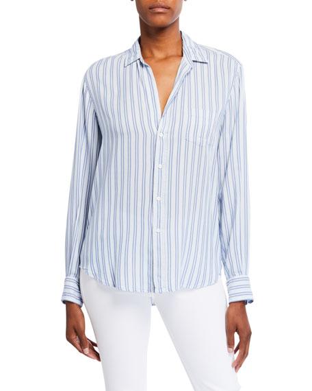 Frank & Eileen Eileen Awning Stripe Modal Button-Down Shirt