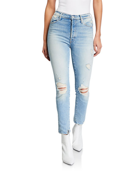 Mother THE SUPER STUNNER ANKLE SKINNY JEANS