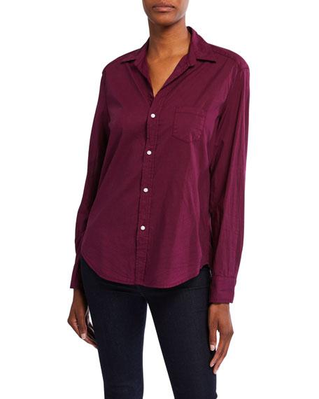Frank & Eileen Eileen Long-Sleeve Cotton Poplin Button-Down Shirt