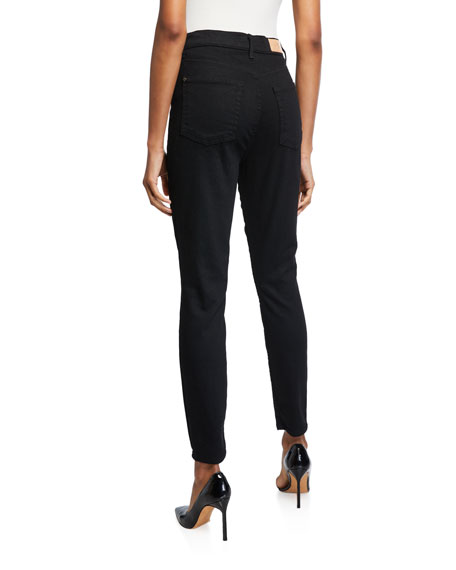 7 For All Mankind Aubrey High-Rise Skinny Jeans