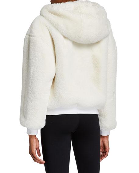 Blanc Noir Cozy Sherpa Hoodie