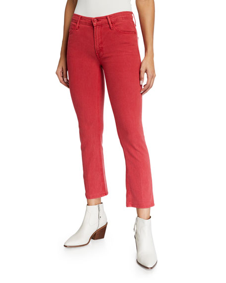Mother Jeans The Mid Rise Dazzler Ankle Jeans