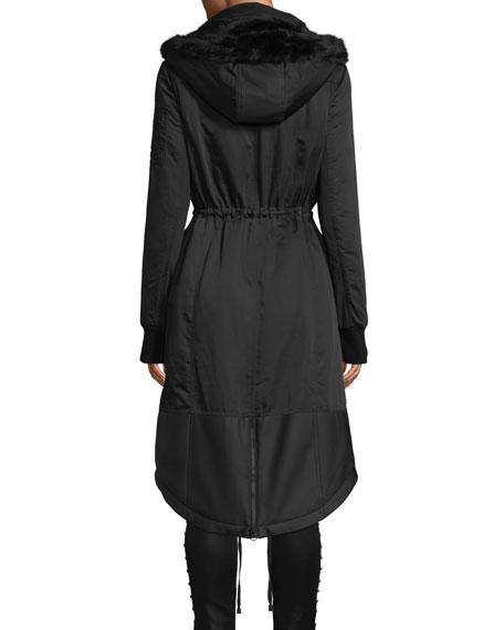 Blanc Noir Locust Anorak Jacket