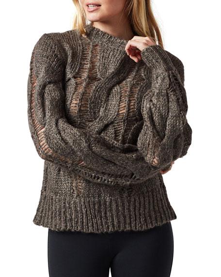 Blanc Noir Upward Climb Sweater