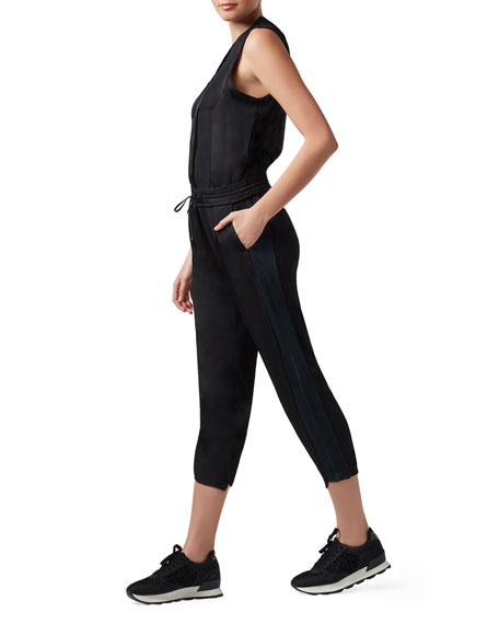 Blanc Noir Finesse Sleeveless Jumpsuit