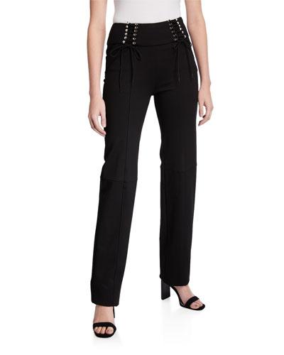 Carolina Pants with Lacing Detail