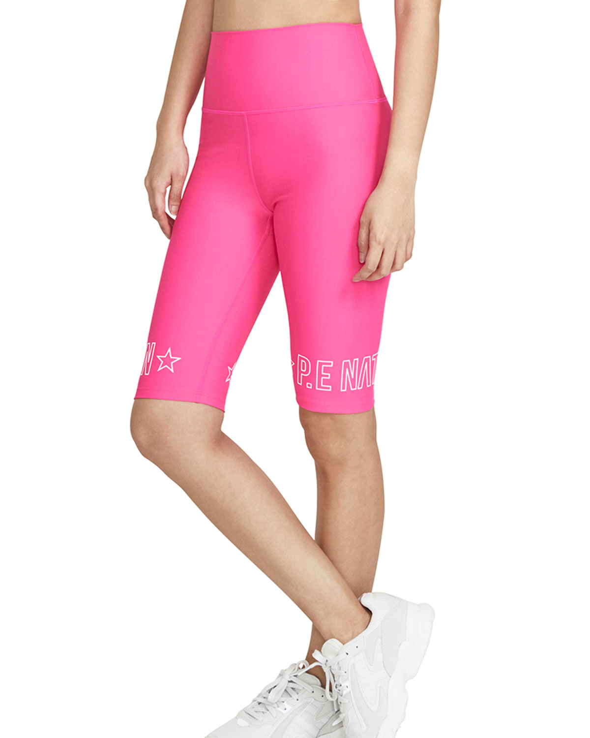 PE Nation Swish Shorts in Bright Pink