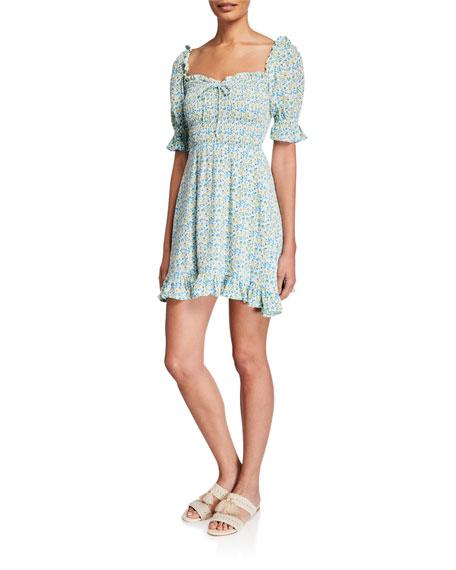 Faithfull the Brand Donna Mini Dress