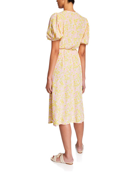 Faithfull the Brand Fran Midi Dress