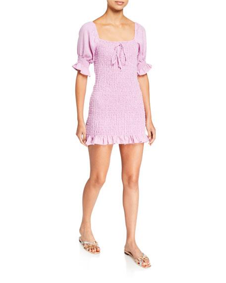Faithfull the Brand Annibelis Mini Dress