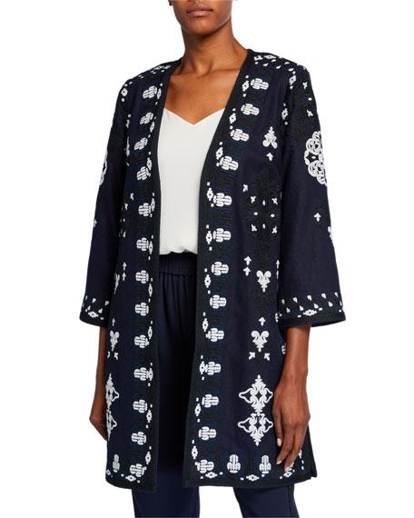 Kobi Halperin Aster Embroidered Coat