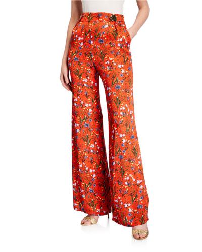 Bridget Trousers With Gold Popper Waist
