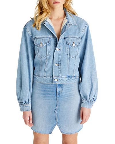 Lauryn Full-Sleeve Denim Jacket